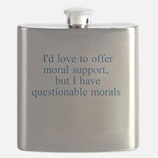 Questionable Morals Flask