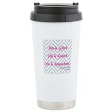 Aibileen Clark Quote Travel Mug