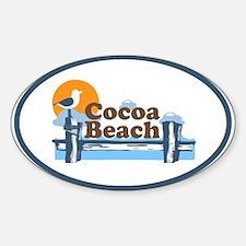 Cocoa Beach - Pier Design. Decal