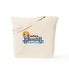 Cocoa Beach - Pier Design. Tote Bag
