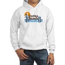 Cocoa Beach - Pier Design. Jumper Hoody