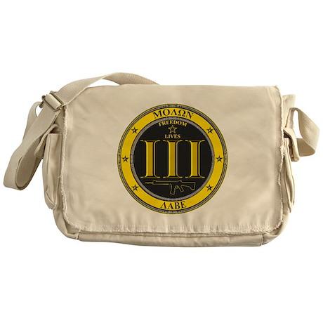 Come and Take It! (Black and Yellow) Messenger Bag