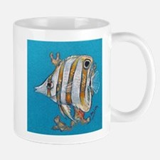 Mug (small) Copperband Butterfly