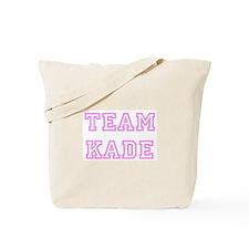 Pink team Kade Tote Bag