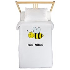 Bee Mine Design Twin Duvet