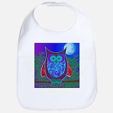 Moon Owl Bib