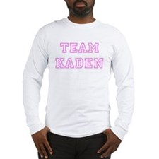 Pink team Kaden Long Sleeve T-Shirt