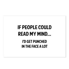 Read My Mind Postcards (Package of 8)