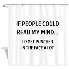 Read My Mind Shower Curtain