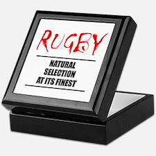 Rugby Natural Selection Keepsake Box