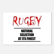 Rugby Natural Selection Postcards (Package of 8)