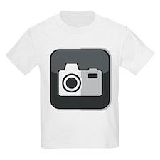 Kamera-Symbol T-Shirt