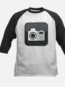 Kamera-Symbol Kids Baseball Jersey