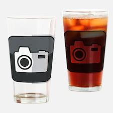 Kamera-Symbol Drinking Glass