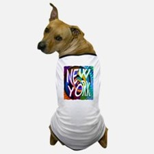 new york art illustration Dog T-Shirt