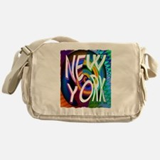 new york art illustration Messenger Bag