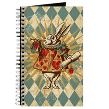Alice White Rabbit Vintage Journal