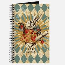 Alice White Rabbit Vintage Journal