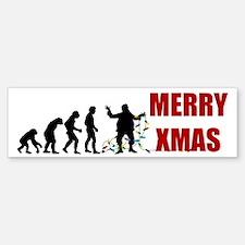 Evolve Santa Sticker (Bumper)