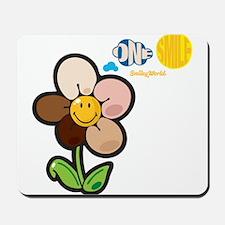 One Smile Smiley Mousepad