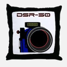 DSR-50 Throw Pillow