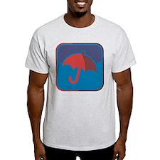 Regenschirm-Symbol T-Shirt