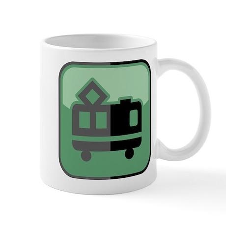 E-Lokomotive Mug