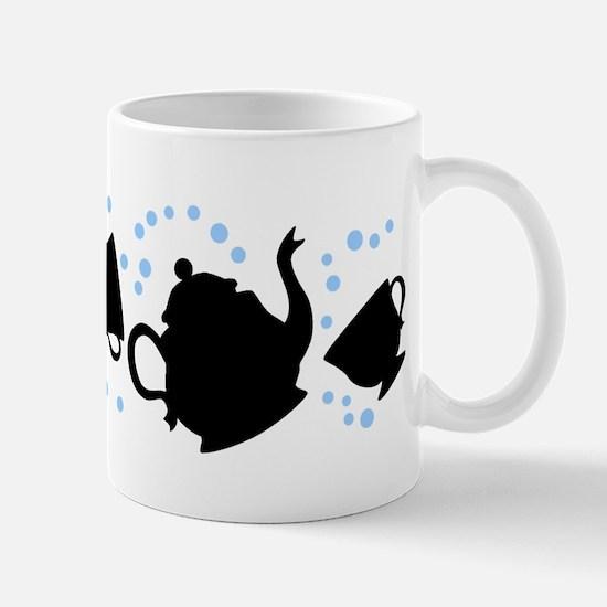 Tumbling Tea Party Mug
