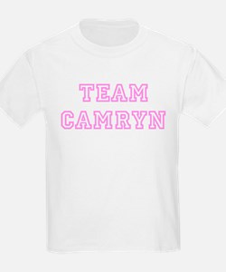 Pink team Camryn Kids T-Shirt