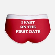I Fart On The First Date Women's Boy Brief