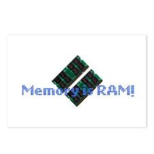 memoryisram.png Postcards (Package of 8)