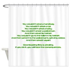 PSA Advert.png Shower Curtain