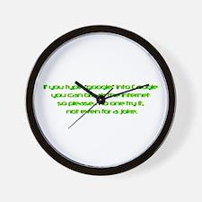 google.png Wall Clock