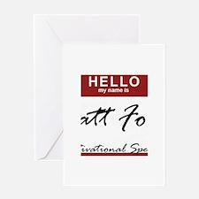 mattfoley.png Greeting Card