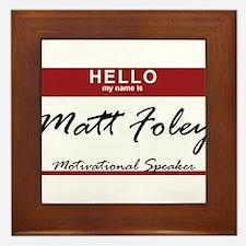 mattfoley.png Framed Tile