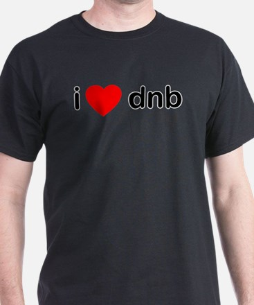 I Love DnB DJ T-Shirt