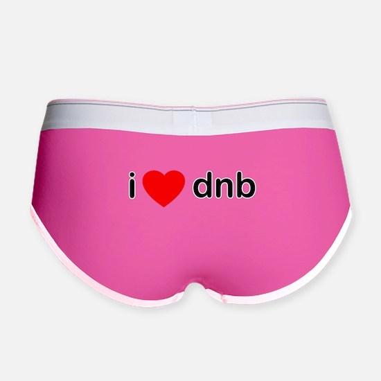 I Love DnB DJ Women's Boy Brief