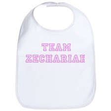 Pink team Zechariah Bib