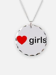 I Love Girls Necklace