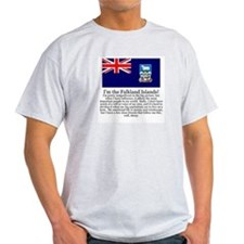 Falkland Islands Gray T