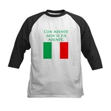 Italian Proverb Something From Nothing Tee
