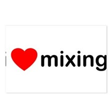 I Love Mixing DJ Postcards (Package of 8)