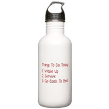 Things To Do Today Sports Water Bottle