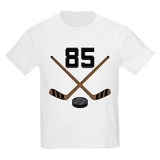 Hockey Player Number 85 T-Shirt