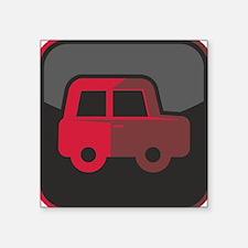 """Auto-Symbol Square Sticker 3"""" x 3"""""""