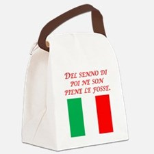 Italian Proverb After The Fact Wisdom Canvas Lunch