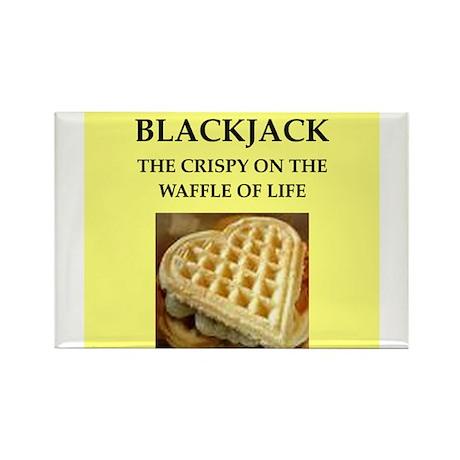 blackjack Rectangle Magnet (100 pack)