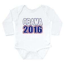 Obama 2016 Long Sleeve Infant Bodysuit
