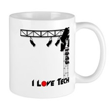 I Love Tech Small Mug