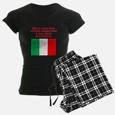 Italian Proverb Poor Rich Pajamas